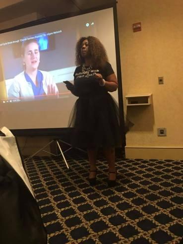 Me speaking